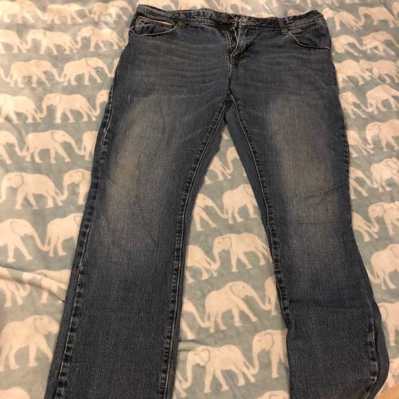Black Other - BLACK Men's Blue Jeans 38X32 Slim Fit
